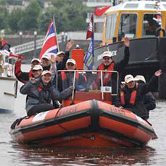 Leicester Scuba Club in Diamond Jubilee Flotilla